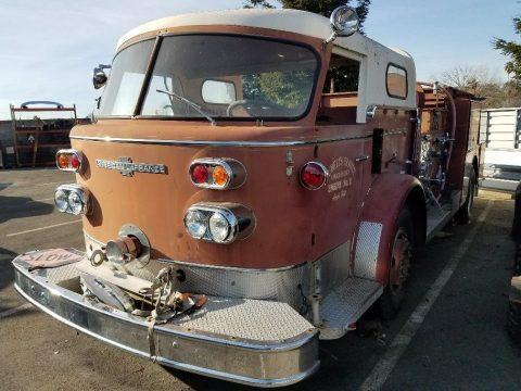 1967 American LaFrance Fire Truck na prodej