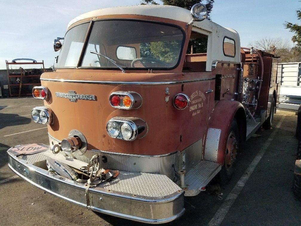 1967 American LaFrance Fire Truck