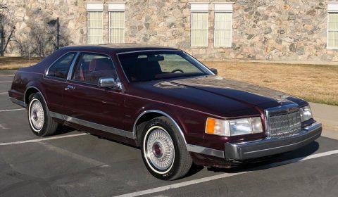 1989 Lincoln Mark VII na prodej