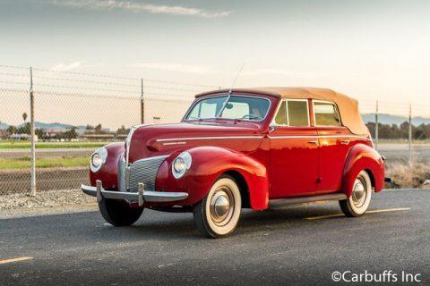 1940 Mercury Eight Convertible Sedan na prodej