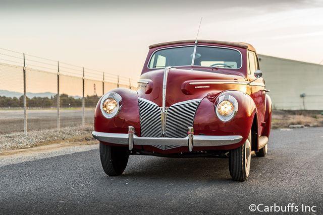 1940 Mercury Eight Convertible Sedan
