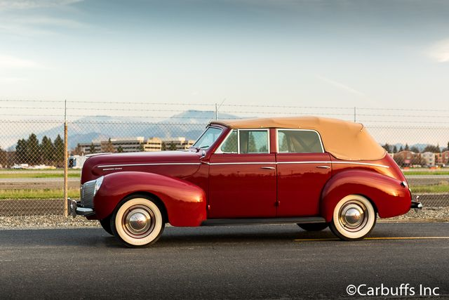 1940 Mercury Eight Convertible Sedan