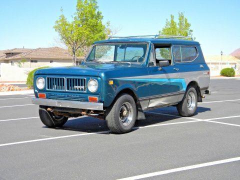1973 International Harvester Scout II na prodej