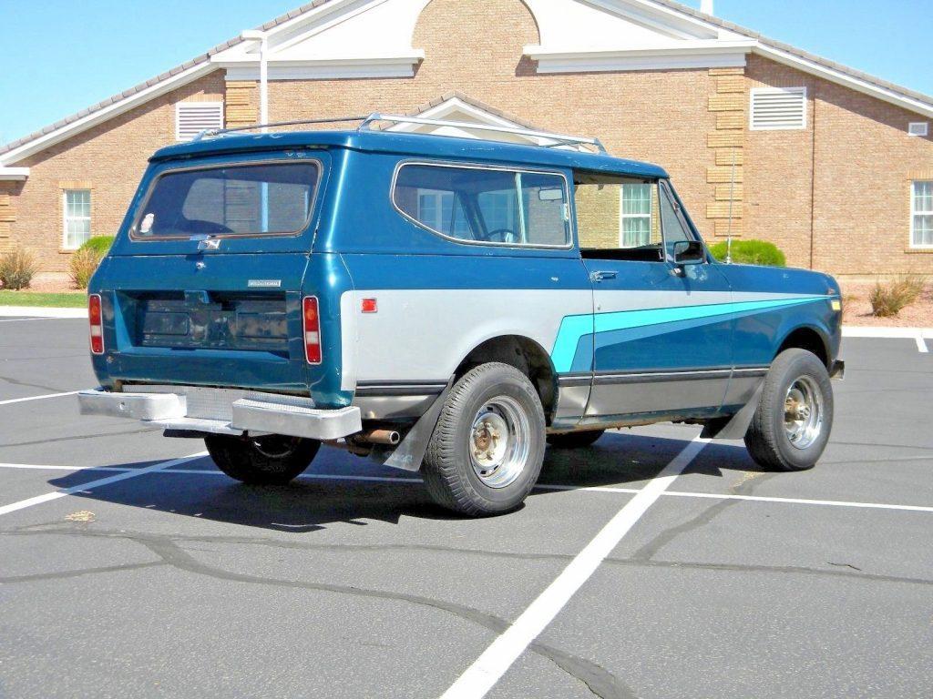1973 International Harvester Scout II