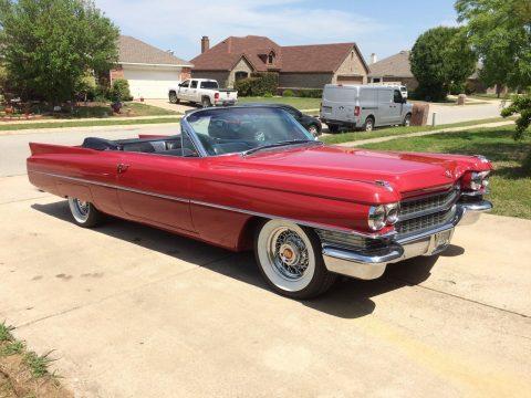 1963 Cadillac Series 62 Convertible na prodej