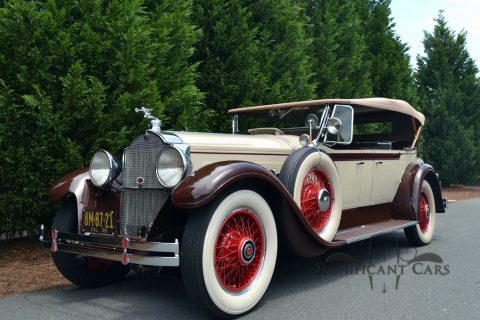 1929 Packard 640 Dual Cowl Phaeton na prodej