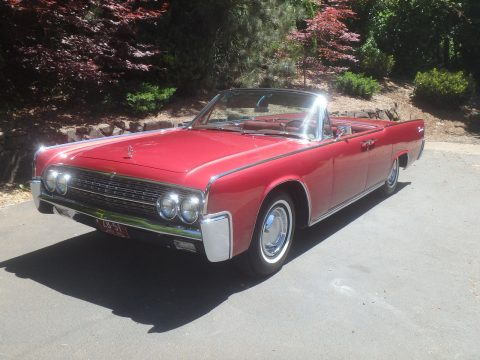 1962 Lincoln Continental Convertible na prodej