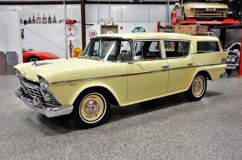 1958 AMC Rambler Super Cross Country Wagon na prodej