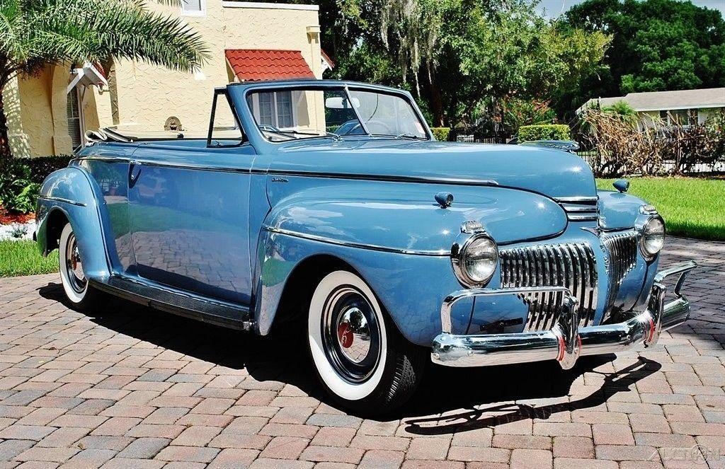 1941 DeSoto Custom Convertible
