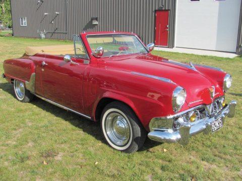 1952 Studebaker Commander Convertible na prodej