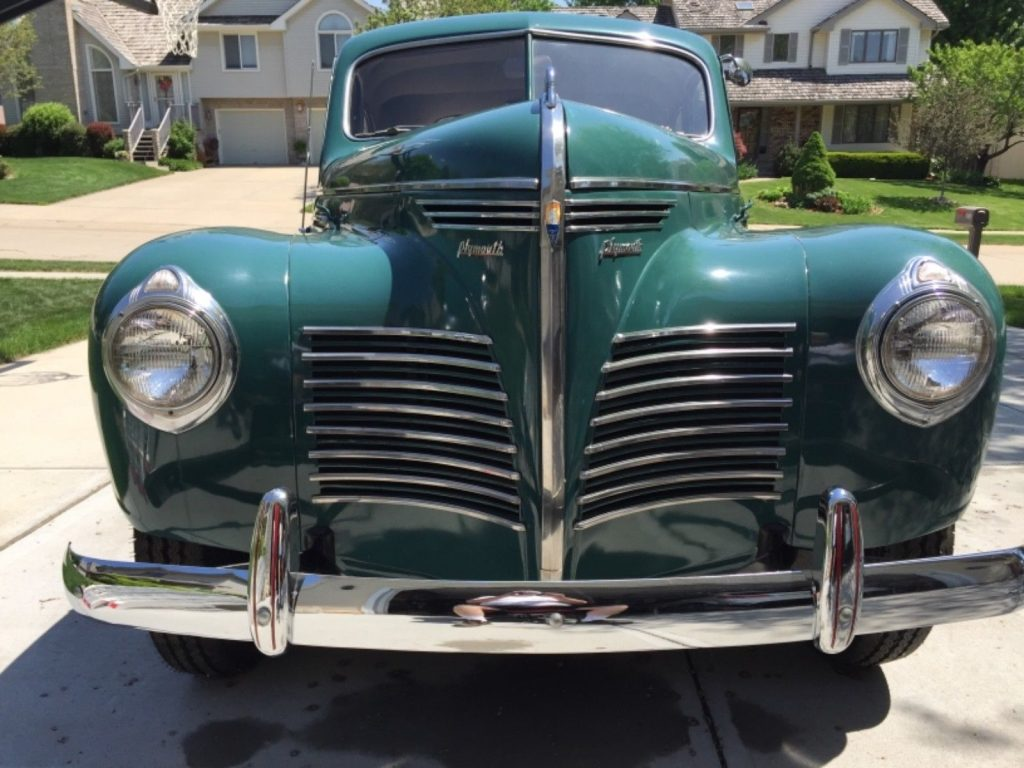 1940 Plymouth Business Coupe