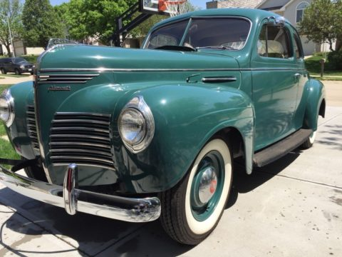 1940 Plymouth Business Coupe na prodej