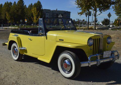 1949 Willys Jeepster na prodej