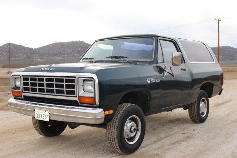 1985 Dodge Ramcharger na prodej