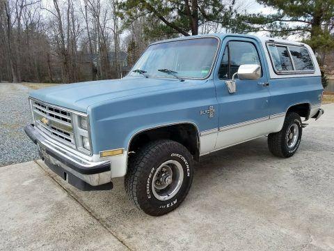 1985 Chevrolet Blazer na prodej