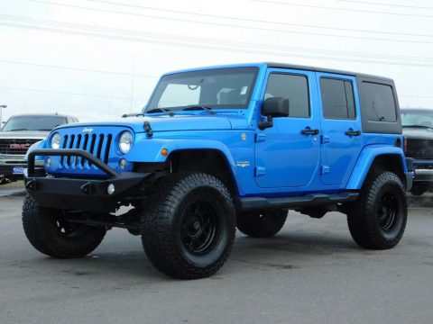 2014 Jeep Wrangler na prodej