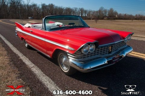 1959 Plymouth Sport Fury Convertible na prodej