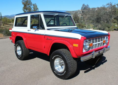 1972 Ford Bronco na prodej