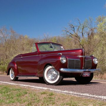 1941 Mercury Eight Convertible na prodej