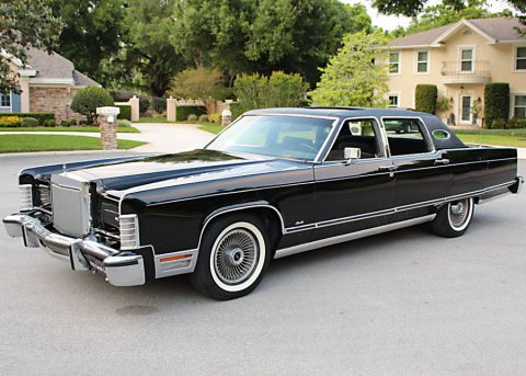 1977 Lincoln Town Car na prodej