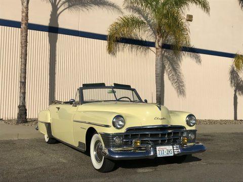1950 Chrysler New Yorker Convertible na prodej