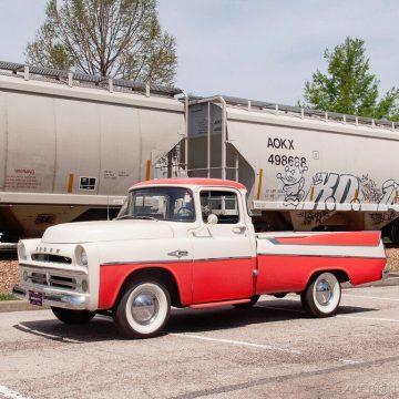 1957 Dodge D100 Sweptside na prodej