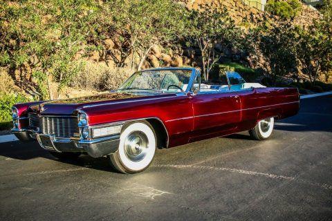 1965 Cadillac DeVille Convertible na prodej