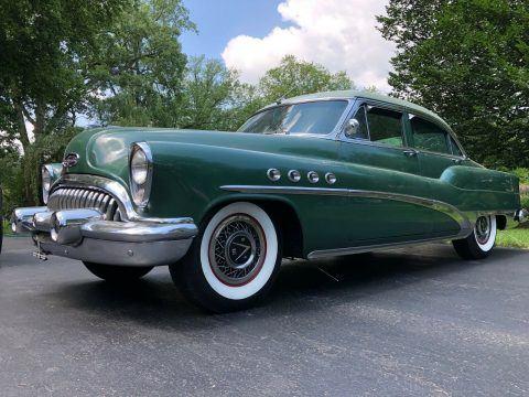1953 Buick Roadmaster na prodej