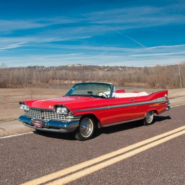 1959 Plymouth Fury Convertible na prodej