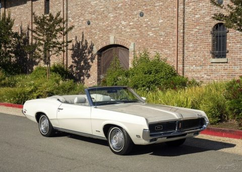 1969 Mercury Cougar XR7 Convertible na prodej