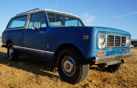 1978 International Harvester Scout Traveler na prodej