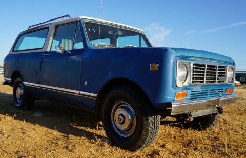 1978 International Harvester Scout Traveler na prodej