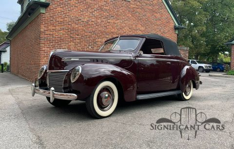 1939 Mercury Eight Convertible na prodej