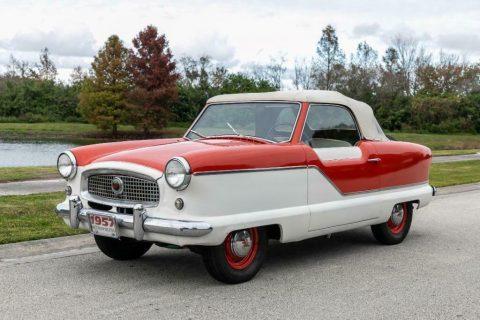 1957 Nash Metropolitan Convertible na prodej