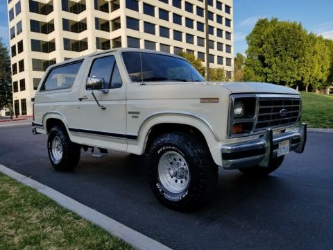 1986 Ford Bronco na prodej