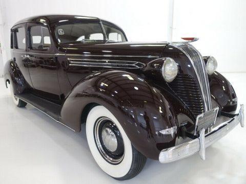 1937 Hudson Custom Six na prodej