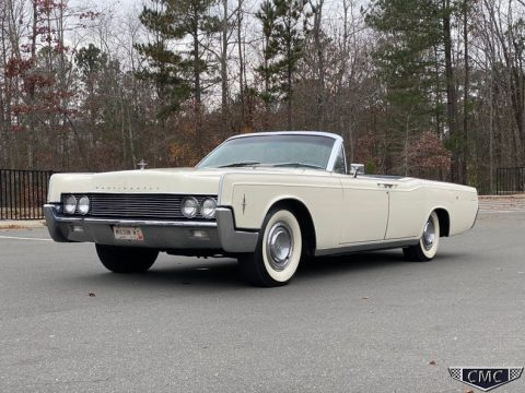 1966 Lincoln Continental Convertible na prodej