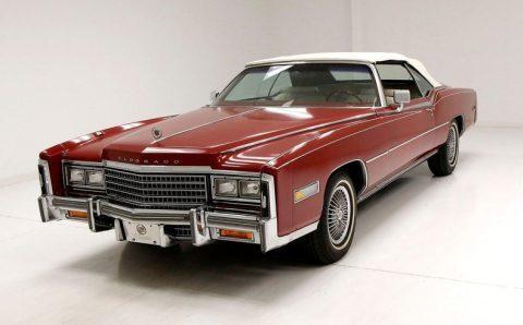 1978 Cadillac Eldorado Biarritz Convertible na prodej