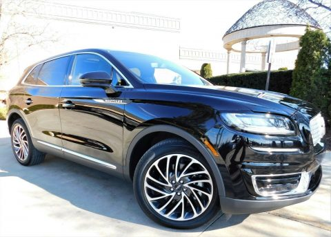 2019 Lincoln Nautilus na prodej