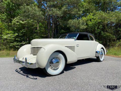 1936 Cord 810 Phaeton na prodej