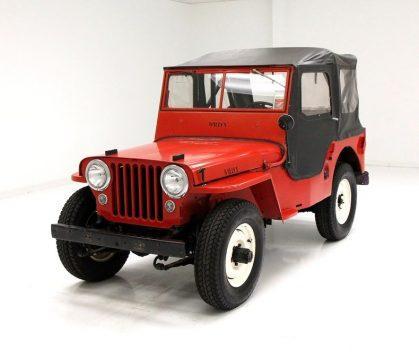 1947 Willys Jeep na prodej