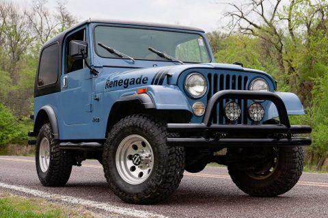 1981 Jeep CJ Renegade na prodej