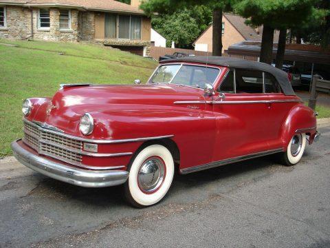 1948 Chrysler New Yorker na prodej