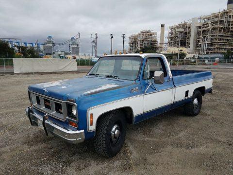 1975 GMC Sierra na prodej