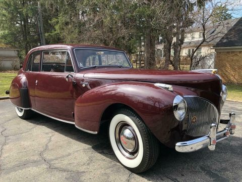 1941 Lincoln Continental na prodej