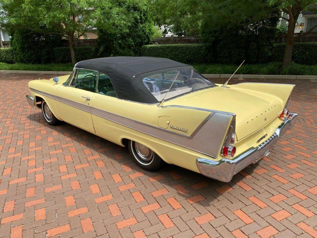 1958 Plymouth Belvedere Convertible