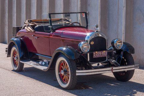 1927 Chrysler Model 62 na prodej