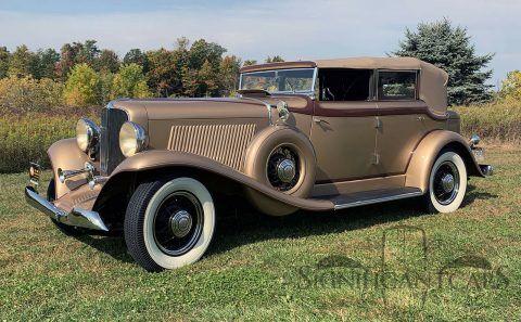 1933 Auburn 8-105 Salon Phaeton na prodej
