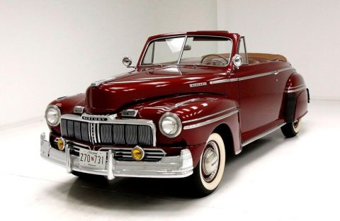1947 Mercury Eight Convertible na prodej
