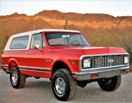 1972 Chevrolet Blazer na prodej